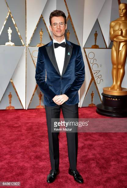 TV personality Brad Goreski attends the 89th Annual Academy Awards at Hollywood Highland Center on February 26 2017 in Hollywood California