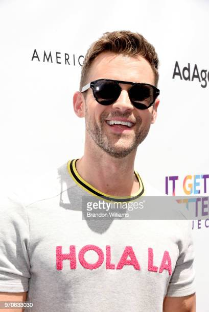 Personality Brad Goreski hosts the 3rd Annual 'It Gets Better A Poolside Pride Celebration' at The Standard Hollywood on June 9 2018 in West...