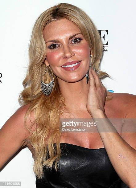 TV personality Brandi Glanville attends a fashion fundraiser benefitting Children's Hospital of Los Angeles hosted by Kyle Richards at Kyle by Alene...