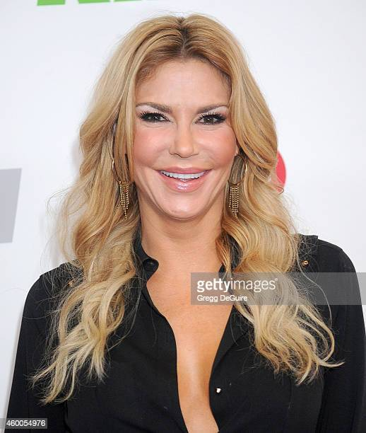 TV personality Brandi Glanville attends KIIS FM's Jingle Ball 2014 powered by LINE at Staples Center on December 5 2014 in Los Angeles California