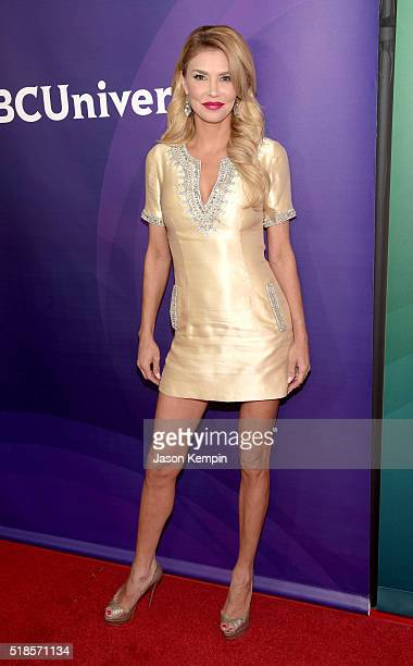 TV personality Brandi Glanville attends the 2016 NBCUniversal Summer Press Day at Four Seasons Hotel Westlake Village on April 1 2016 in Westlake...