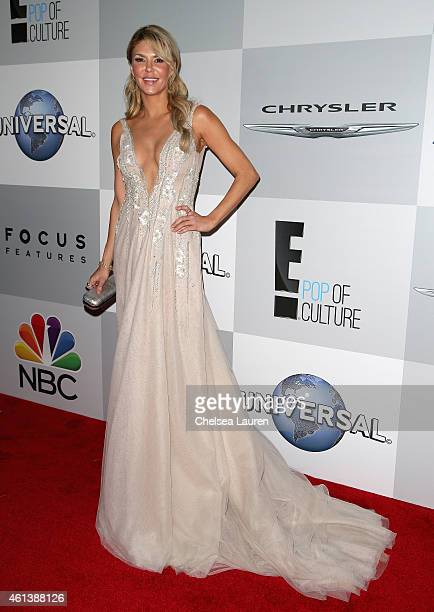 Personality Brandi Glanville attends the NBCUniversal 2015 Golden Globe Awards Party sponsored by Chrysler at The Beverly Hilton Hotel on January 11...