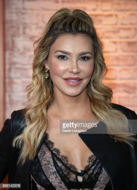 TV personality Brandi Glanville visits Hollywood Today Live at W Hollywood on February 13 2017 in Hollywood California