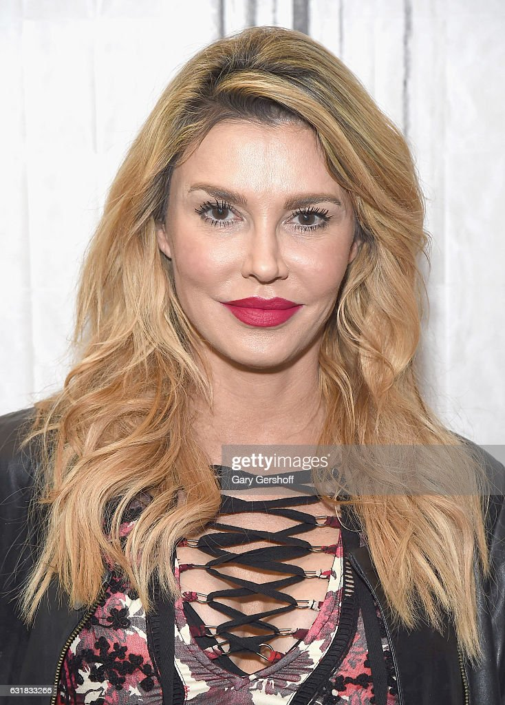 TV personality Brandi Glanville visits the Build Series at Build Studio to discuss the cooking series 'My Kitchen Rules' on January 16, 2017 in New York City.