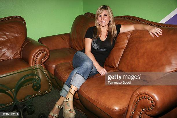 TV personality Brandi Passante attends the Storage Wars Stars Jarrod Schulz And Brandi Passante Store Opening on October 8 2011 in Orange California