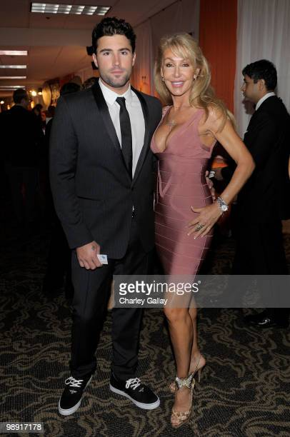 TV personality Brody Jenner and actress Linda Thompson attend 17th Annual Race to Erase MS event cocktail reception cochaired by Nancy Davis and...