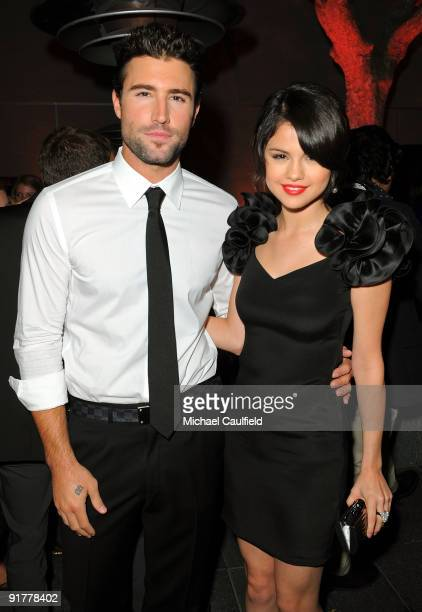 TV personality Brody Jenner and actress Selena Gomez attend the Hollywood Life's 6th Annual Hollywood Style Awards cocktail party held at the Armand...