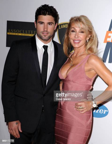 TV personality Brody Jenner and Linda Thompson arrive at the 17th Annual Race to Erase MS event cochaired by Nancy Davis and Tommy Hilfiger at the...