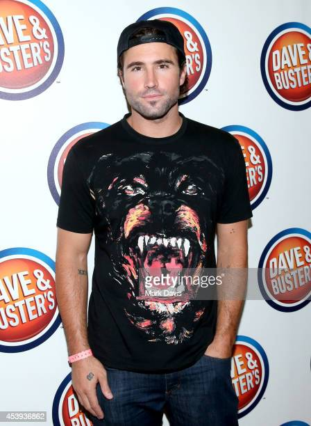 TV personality Brody Jenner attends Dave Buster's Hollywood Highland Grand Opening on August 21 2014 in Hollywood California