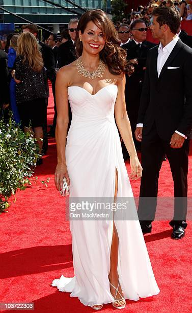 Personality Brooke Burke attends the 62nd Annual Primetime Emmy Awards at Nokia Theatre Live L.A. On August 29, 2010 in Los Angeles, California.
