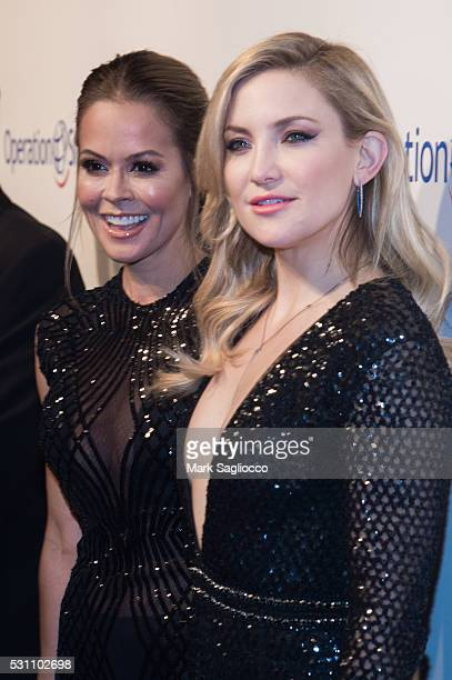 Personality Brooke BurkeCharvet and Actress Kate Hudson attend the 14th Annual Operation Smile at Cipriani 42nd Street on May 12 2016 in New York City
