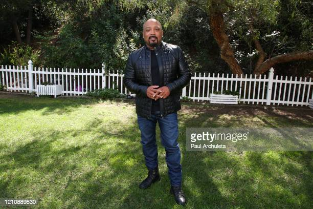 """Personality / Businessmen Daymond John visits Hallmark Channel's """"Home & Family"""" at Universal Studios Hollywood on March 06, 2020 in Universal City,..."""