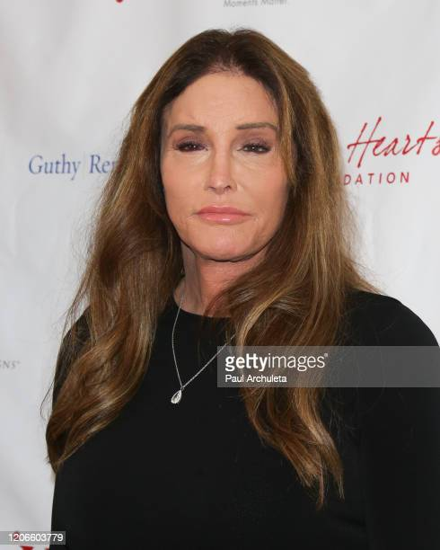 Personality Caitlyn Jenner attends the Open Hearts Foundation 10th Anniversary Gala at SLS Hotel at Beverly Hills on February 15, 2020 in Los...