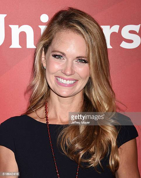 TV personality Cameran Eubanks arrives at the 2016 Summer TCA Tour NBCUniversal Press Tour at the Four Seasons Hotel Westlake Village on April 1 2016...
