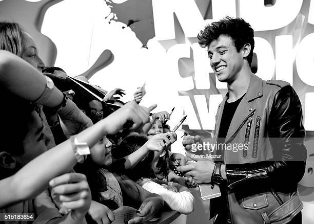 TV personality Cameron Dallas attends Nickelodeon's 2016 Kids' Choice Awards at The Forum on March 12 2016 in Inglewood California