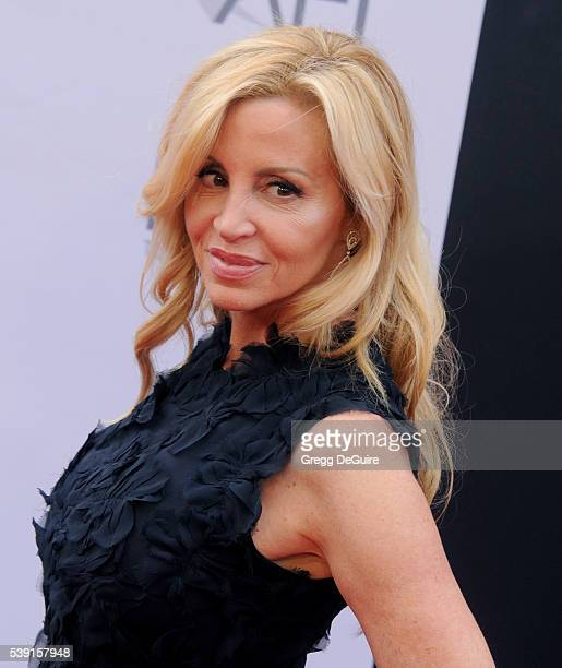 TV personality Camille Grammer arrives at the 44th AFI Life Achievement Awards Gala Tribute to John Williams at Dolby Theatre on June 9 2016 in...