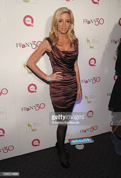 """Personality Camille Grammer attends """"FFANY Shoes on Sale"""" Benefit for Breast Cancer Research and Education, presented by QVC at Frederick P. Rose..."""