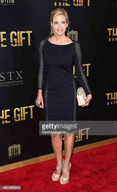 """Personality Camille Grammer attends STX Entertainment's """"The Gift"""" Los Angeles premiere at Regal Cinemas L.A. Live on July 30, 2015 in Los Angeles,..."""