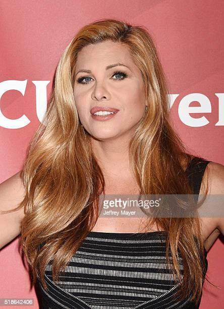 Personality Candis Cayne arrives at the 2016 Summer TCA Tour - NBCUniversal Press Tour at the Four Seasons Hotel - Westlake Village on April 1, 2016...