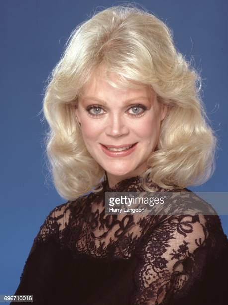 Personality Candy Spelling poses for a portrait in 1983 in Los Angeles California
