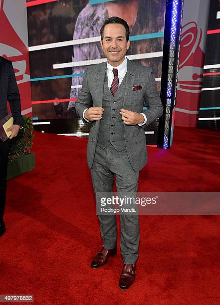 TV personality Carlos Calderon attends the 16th Latin GRAMMY Awards at the MGM Grand Garden Arena on November 19 2015 in Las Vegas Nevada