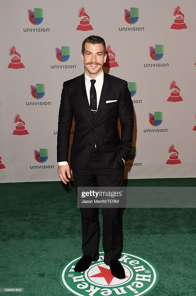 TV personality Carlos McConnie attends the 15th Annual Latin GRAMMY Awards at the MGM Grand Garden Arena on November 20, 2014 in Las Vegas, Nevada.