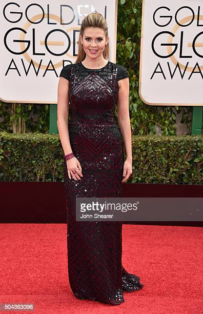 TV personality Carly Steel attends the 73rd Annual Golden Globe Awards held at the Beverly Hilton Hotel on January 10 2016 in Beverly Hills California
