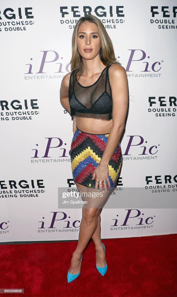 TV personality Carmen Carrera attends the 'Fergie Double Dutchess: Seeing Double the Visual Experience' one-night premiere at iPic Fulton Market on September 20, 2017 in New York City.
