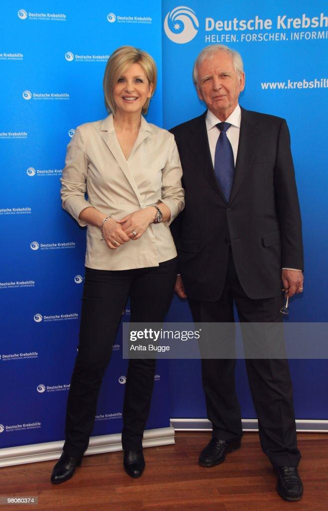 Carmen Nebel Announced Embassador For Deutsche Krebshilfe