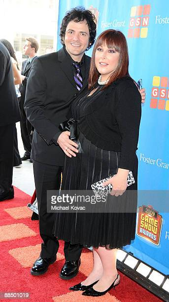 TV personality Carnie Wilson arrives with husband Rob Bonfiglio at the GSN's 1st Annual Game Show Awards at the Wilshire Theatre Beverly Hills on May...