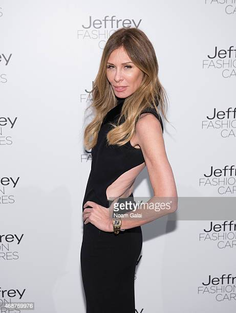Personality Carole Radziwill attends the Jeffrey Fashion Cares 2015 at ArtBeam on April 6 2015 in New York City