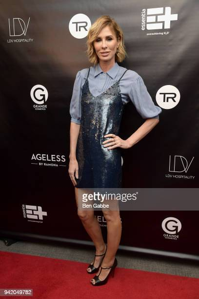 TV personality Carole Radziwill attends The Real Housewives of New York Season 10 Premiere Viewing Party at The Seville on April 4 2018 in New York...