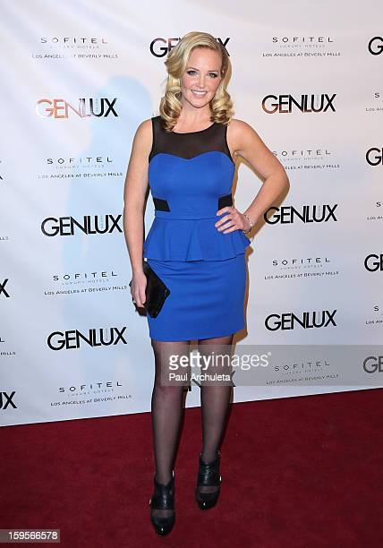 Personality Carolyn Manno attends the opening of the new bar Riviera 31 at the Sofitel LA Hotel on January 15 2013 in Beverly Hills California