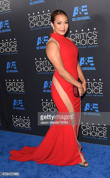 TV personality Carrie Ann Inaba attends the 5th Annual Critics' Choice Television Awards at The Beverly Hilton Hotel on May 31 2015 in Beverly Hills...