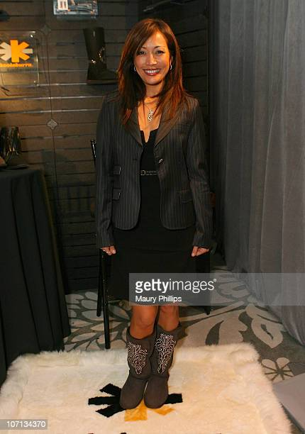f433e87050e TV Personality Carrie Ann Inaba attends the Access Hollywood Stuff You Must  Lounge produced by On