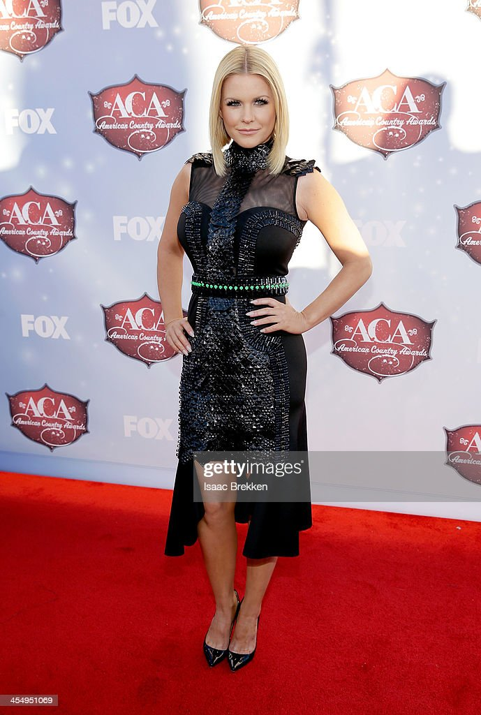 TV personality Carrie Keagan arrives at the American Country Awards 2013 at the Mandalay Bay Events Center on December 10, 2013 in Las Vegas, Nevada.