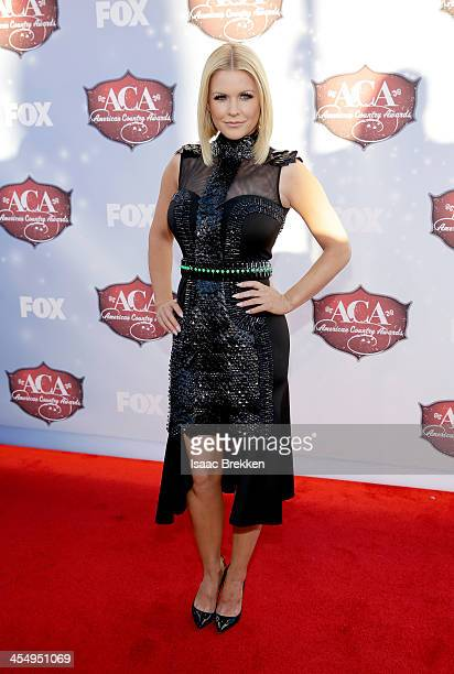 TV personality Carrie Keagan arrives at the American Country Awards 2013 at the Mandalay Bay Events Center on December 10 2013 in Las Vegas Nevada