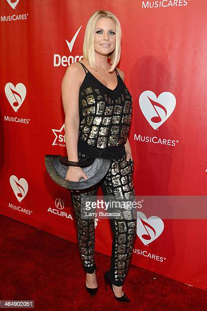 TV personality Carrie Keagan attends 2014 MusiCares Person Of The Year Honoring Carole King at Los Angeles Convention Center on January 24 2014 in...