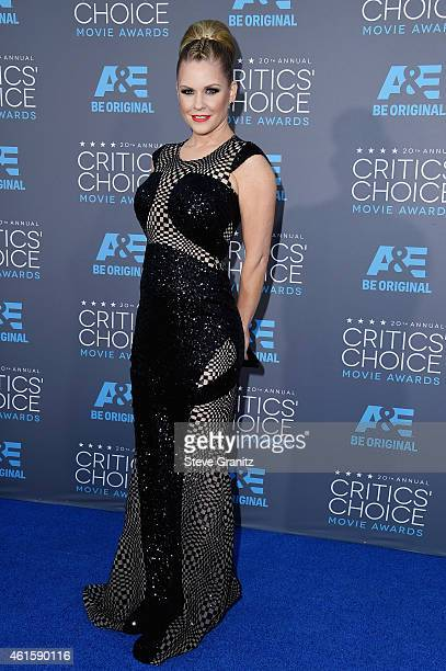 TV personality Carrie Keagan attends the 20th annual Critics' Choice Movie Awards at the Hollywood Palladium on January 15 2015 in Los Angeles...