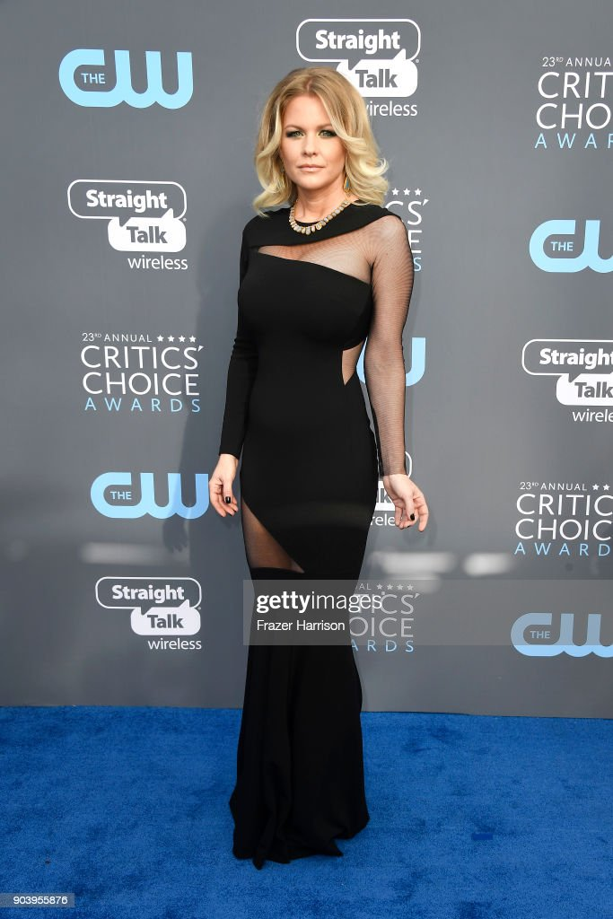 TV personality Carrie Keagan attends The 23rd Annual Critics' Choice Awards at Barker Hangar on January 11, 2018 in Santa Monica, California.