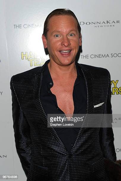 TV personality Carson Kressley attends a screening of Happy Tears hosted by the Cinema Society and Donna Karan at The Museum of Modern Art on...