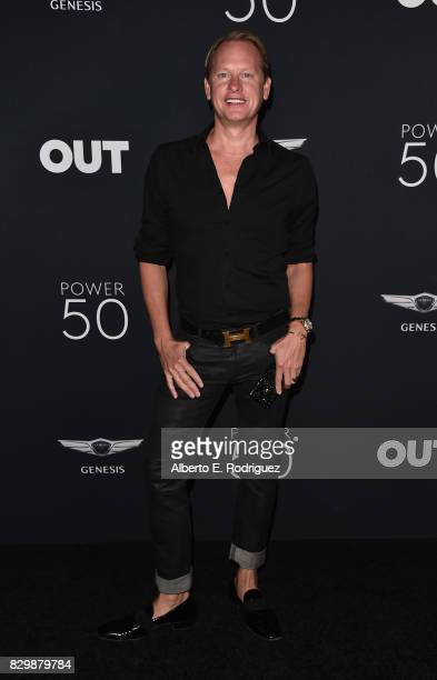 TV personality Carson Kressley attends OUT Magazine's Inaugural Power 50 Gala Awards Presentation at Goya Studios on August 10 2017 in Los Angeles...