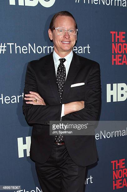 Personality Carson Kressley attends The Normal Heart New York Screening at Ziegfeld Theater on May 12 2014 in New York City