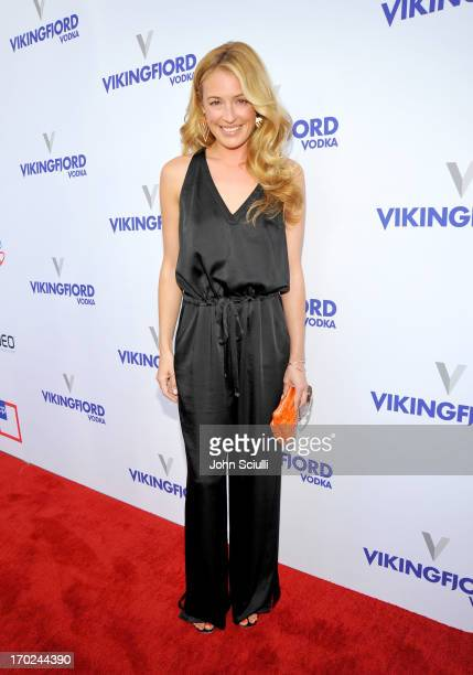 TV personality Cat Deeley arrives at the 1st Annual Children Mending Hearts Style Sunday on June 9 2013 in Beverly Hills California