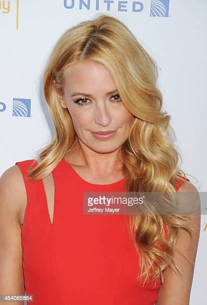TV personality Cat Deeley arrives at the Television Academy's 66th Emmy Awards Performance Nominee Reception at the Pacific Design Center on Saturday...