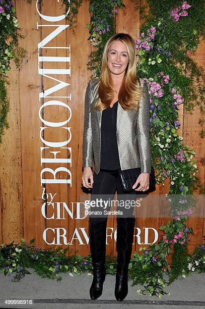 TV personality Cat Deeley attends a book party in honor of Becoming by Cindy Crawford hosted by Bill Guthy And Greg Renker at Eric Buterbaugh Floral...