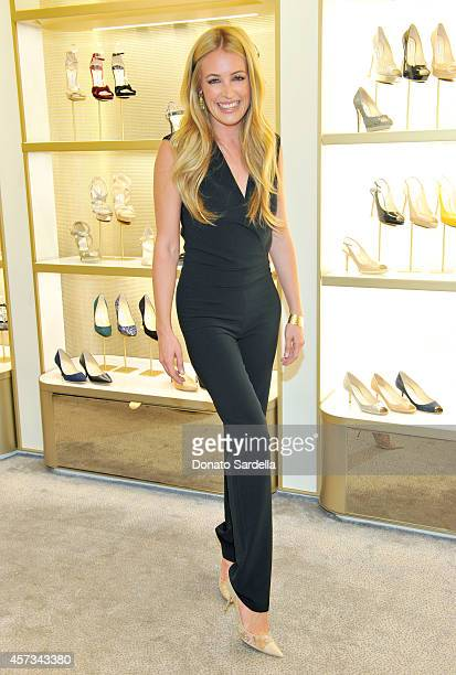 TV personality Cat Deeley attends an evening to support Delete Blood Cancer hosted by Jimmy Choo in association with Cindy Crawford and Katharina...