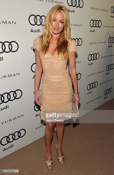 TV personality Cat Deeley attends Audi and David Yurman Kick Off Emmy Week 2011 and Support Tuesday's Children at Cecconi's Restaurant on September...
