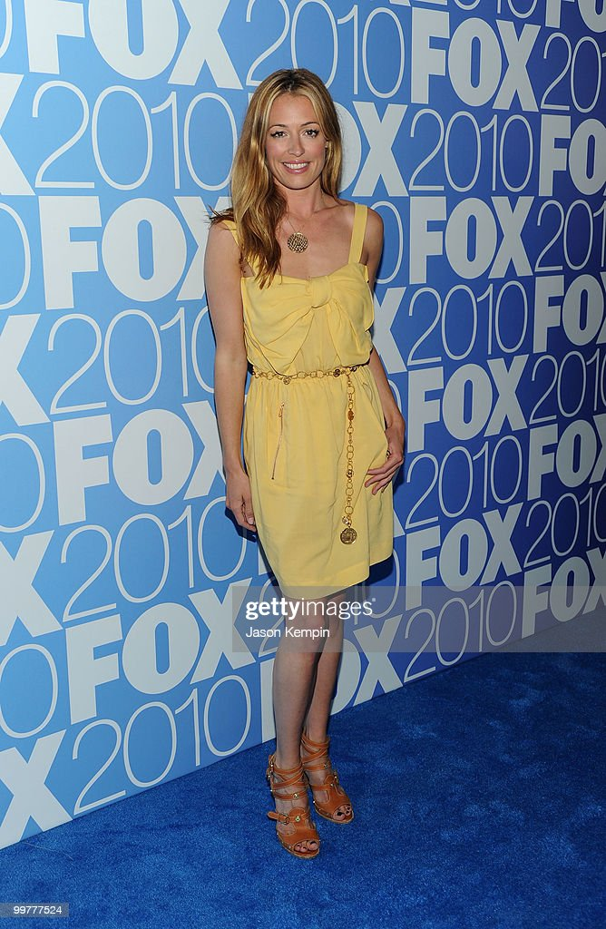 TV personality Cat Deeley attends the 2010 FOX Upfront after party at Wollman Rink, Central Park on May 17, 2010 in New York City.