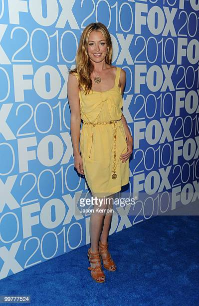 TV personality Cat Deeley attends the 2010 FOX Upfront after party at Wollman Rink Central Park on May 17 2010 in New York City
